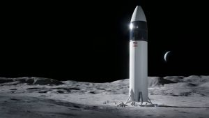 NASA chooses SpaceX to land next astronauts on Moon