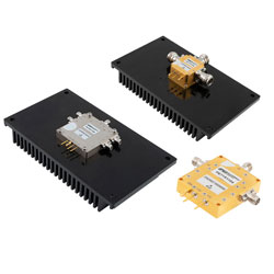 New high-power PIN diode switches utilise GaN semiconductor technology