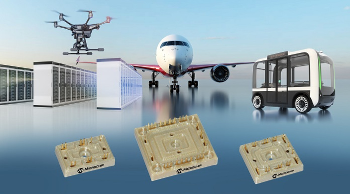 Baseless power modules enable higher efficiency power conversion in aircraft